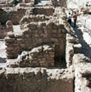 Holy Land: Qumran Ruins Art Print