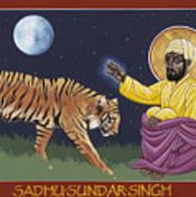 Holy Sadhu Sundar Singh 189 Art Print