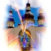 Holy Trinity Cathedral  Art Print