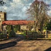Holy Trinity Church Cookham Art Print
