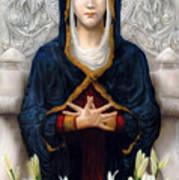 Holy Woman Art Print