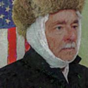 Homage To Van Gogh Selfie Art Print
