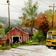 Home Bus Art Print