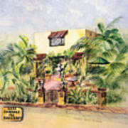 Home On Belmont Shore Art Print