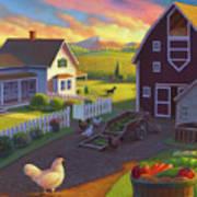 Home on the Farm Art Print