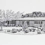 Home Portrait 2040 Art Print