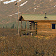 Home Sweet Fishing Home In Alaska Art Print