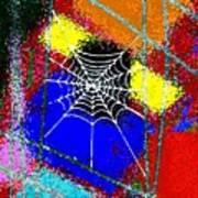 Home Sweet Spider Home Art Print