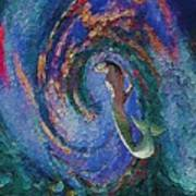 Homecoming Mermaid Art Print