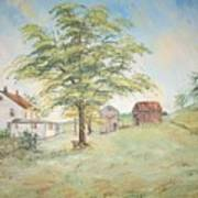Homeplace - The Farmhouse Art Print