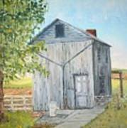 Homeplace - The Washhouse Art Print