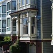 Homes Of San Francisco Art Print
