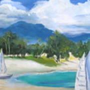Homesick For Hawaii Art Print
