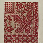 Homespun Coverlet Art Print