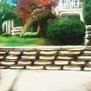 Hometown Garden Art Print