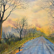 Homeward Bound For Kilham Art Print
