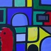 Hommage A Mark Rothko Art Print