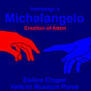 Hommage A Michelangelo  Art Print