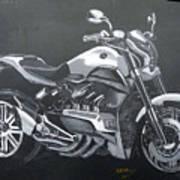 Honda Concept Evo 6 Art Print