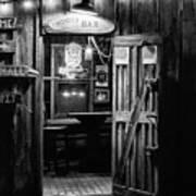 Hondos Bar In Luckenbach Texas Art Print