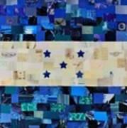Honduras Flag Art Print