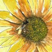 Honey Bee Art Print