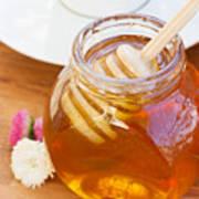 Honey Jar Art Print