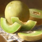 Honeydew Melons Art Print