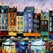 Honfleur - Normandie Art Print