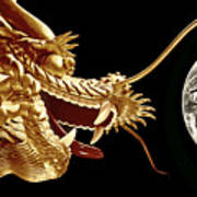 Hong Kong Dragon  Art Print