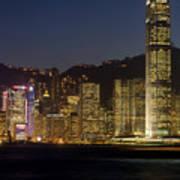 Hong Kong Harbor December 1 Art Print