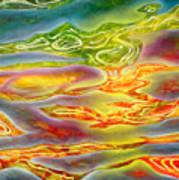 Honokohau Harbor Reflections Art Print