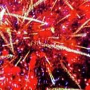 Honolulu Fireworks Art Print