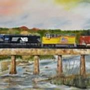 Hooch - Chattahoochee River - Columbus Ga Art Print