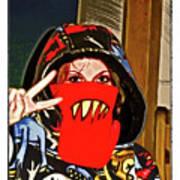 Hooded Girl Art Print