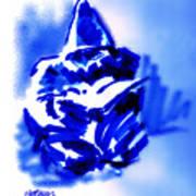 Hooded Scholar Art Print