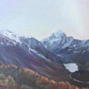 Hookers Valley New Zealand Art Print