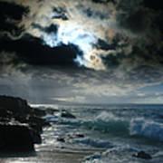 Hookipa Waiola  O Ka Lewa I Luna Ua Paaia He Lani Maui Hawaii  Art Print