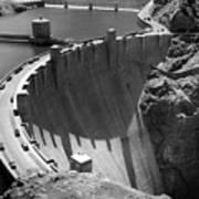 Hoover Dam, 1948 Art Print