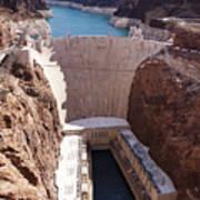 Hoover Dam II Art Print