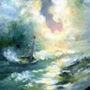 Hope In The Storm I Art Print