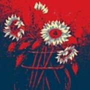 Hope Sunflowers  Art Print