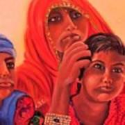 #hopeful In India Art Print