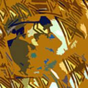 Hopi Flute Player Art Print