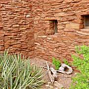 Hopi House Garden Art Print