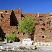 Hopi House Grand Canyon Arizona Art Print