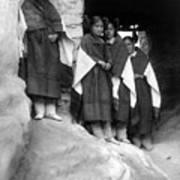 Hopi Maidens, 1906 Art Print