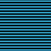 Horizontal Black Outside Stripes 18-p0169 Art Print