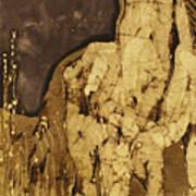 Horse Above Stones Art Print