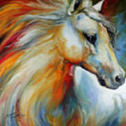 Horse Angel No 1 Art Print